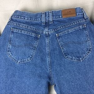 """Vintage LEE jeans high waisted """"mom"""" style 12M"""